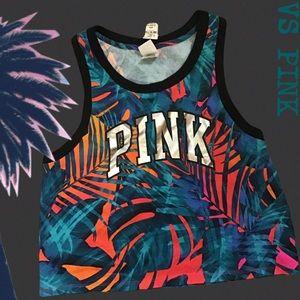🆕VS Pink Tropical Print Tank